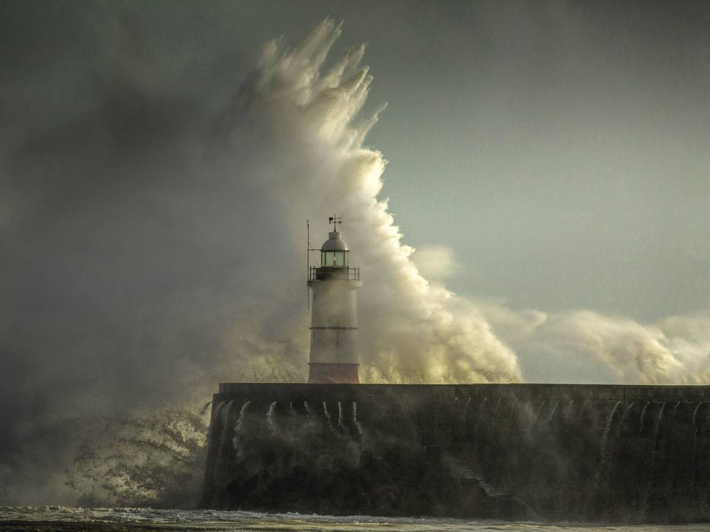 Storms continue to batter Britain