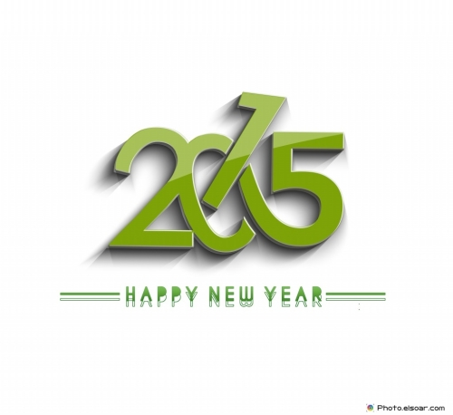 Happy-New-Year-2015-Beautiful-Green