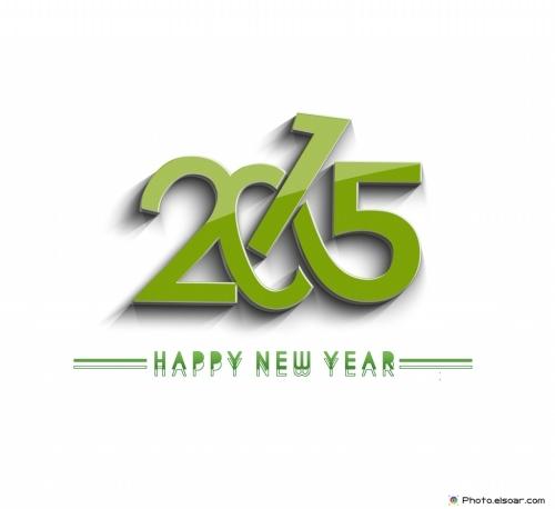 Happy-New-Year-2015-Beautiful-Green
